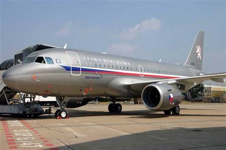 Vládní Airbus A-319