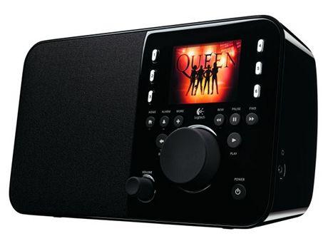 Rádio Logitech Squeezebox hraje Queen