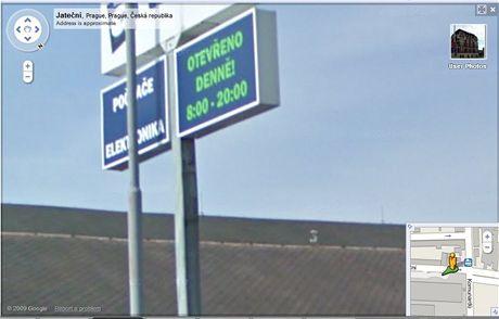 Street View oteviraci doba