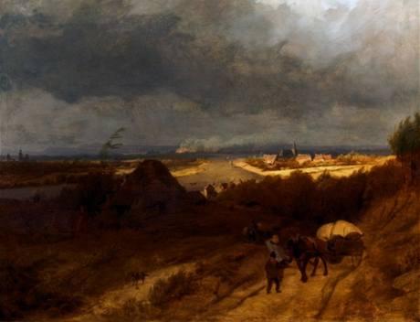 Barend Cornelis Koekkoek: Krajina u Kleve (1846)