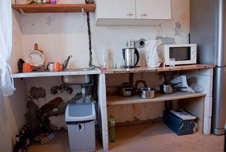 Stará kuchyně byla provizorní