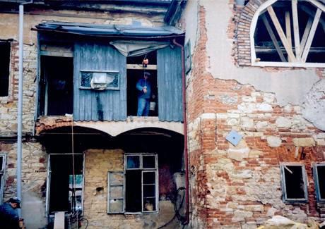 Takto vypadal dům před rekonstrukcí