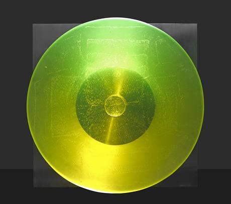 Rony Plesl je proslulý používáním uranového skla
