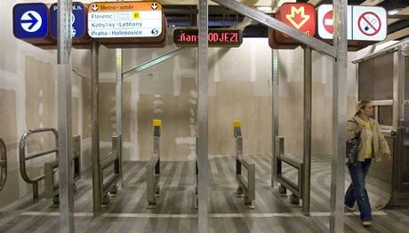 Na hlavním nádraží v Praze začala poslední část oprav nové odbavovací haly. 5.10.2009