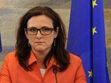 Švédská ministryně pro EU Cecilie Malmströmová.