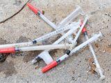 Strážníci v Brně likvidovali použité injekční stříkačky