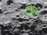 Ukázka z vizualizace nárazu sondy LCROSS do povrchu Měsíce