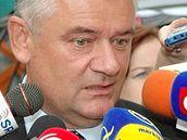 Předseda Slovenské národní strany (SNS) Ján Slota.