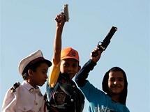 Trabantem Afrikou. Děti v Káhiře