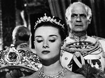 Audrey Hepburnov� ve filmu Pr�zdniny v ��m�
