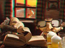 Z filmu Fimfárum 3D - hospoda ve 3D provedení