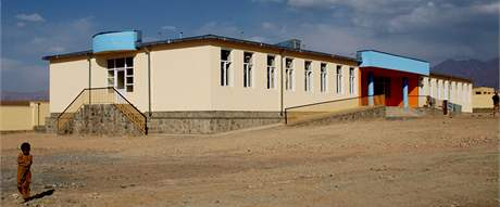 Češi dokončili v afghánském Lógaru tři školy.