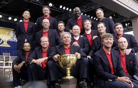 Presidents Cup 2009 - vítězný tým USA.