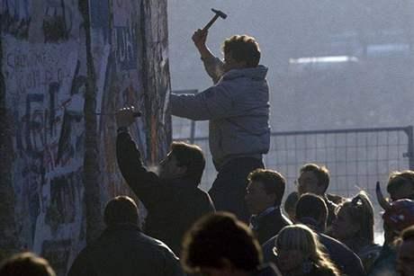 Po pádu Berlínské zdi v listopadu 1989