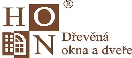 logo HON dřevěná okna a dveře