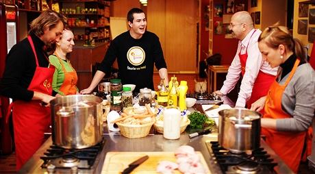 Kurz vaření pod vedením profesionálního kuchaře