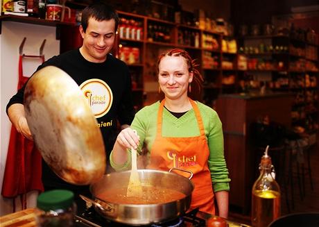 Kurz vaření - příprava českého guláše