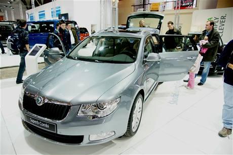 Škoda Superb Combi se představuje v Česku