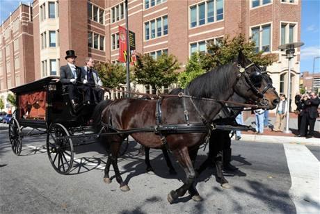 Pohřeb E. A. Poea po 160 letech (11. 10. 2009, Baltimore)