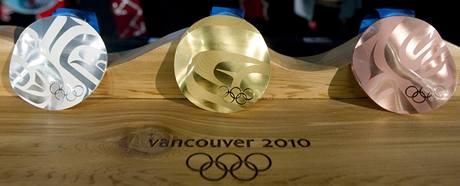 Medaile pro ZOH 2010 ve Vancouveru