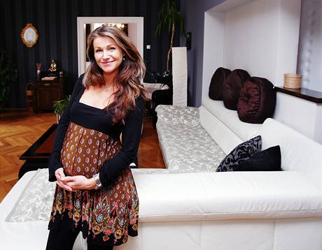 Byt si paní Sandra navrhla sama, rekonstrukci i zařízení zvládla za dva měsíce