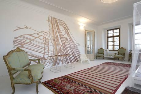Rohová ložnice po rekonstrukci
