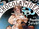 K výstavě Alfons Mucha Moravské galerie Brno - Chocolat Ideál (1897)