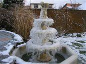 Zimní fontána