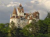 Draculův hrad v Transylvánii