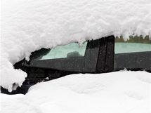 Sněhová kalamita v Jablonci nad Nisou. (16. října 2009)