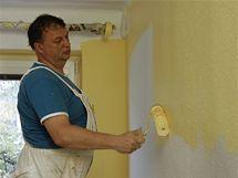 Soutěž o vymalování obývacího pokoje
