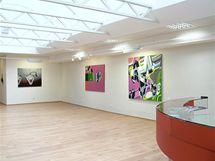 Výstava Jiřího Davida v Galerii Brno