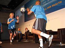 Pavel Nedvěd na lékařském kongresu FIFA