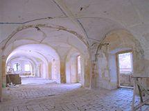 Společenský sál před rekonstrukcí