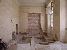 Koupelna před rekonstrukcí