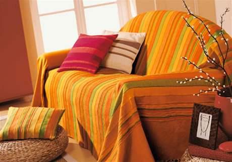 Dekorativní přehoz – velký výběr barev a velikostí