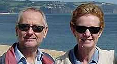 Manželé Paul a Rachel Chandlerovi, které unesli somálští piráti v Indickém oceánu (29.10. 2009)