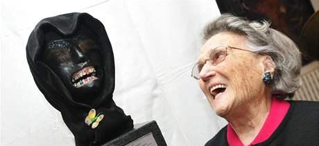 Lubo Kristek vytvořil plastiku chrupu italské šlechtičně Anně del Pezzo di Caianello
