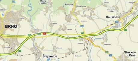 Nehoda těžkého nákladního auta uzavřela dnes ráno dálnici D1