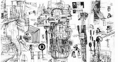 Amanita Design: Machinarium (skica)