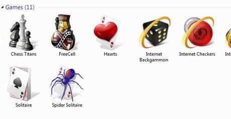 Windows 7 a hry