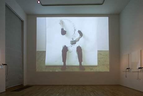 Z výstavy Emil Filla a Milan Grygar