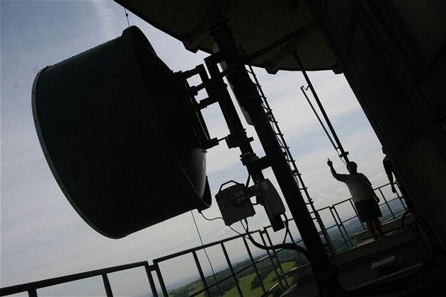 Buková hora - WiFi antény