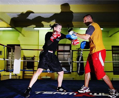 Kickboxerka Kamila Ďuricová - do tréninku se musí dát všechno...
