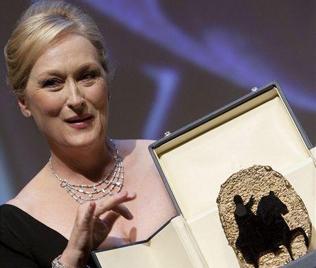 Herečka Meryl Streepová převzala na římském filmovém festivalu cenu za celoživotní přínos