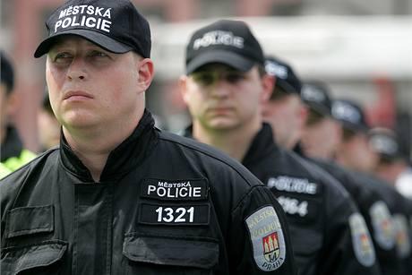 Strážníci Městské policie. Ilustrační foto