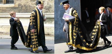 Rektorovy slasti aneb Chris Patten coby oxfordský hodnostář.