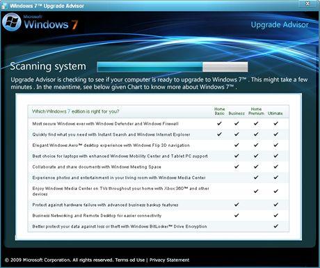 Windows 7 Upgrade Advisor 2