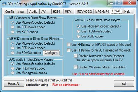 Windows 7 Codecs 2.0.5