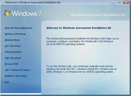 Windows Automated Installation Kit